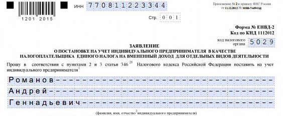 Регистрация ип как встать на учет в налоговую как заполнить декларацию 3 ндфл при социальном вычете