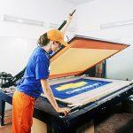 Печатный трафарет для печати на текстиле: футболках, флагах и прочем