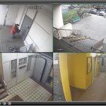 Видеокамеры в жилых домах помогают следить за порядком