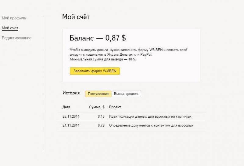 Сколько можно заработать в Яндекс.Толоке?