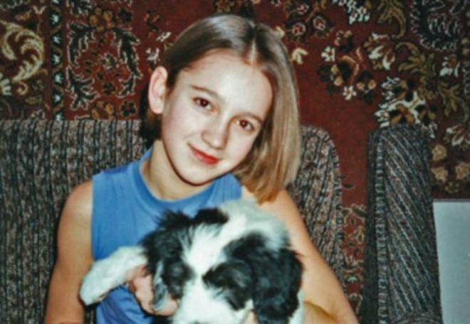 Ольга Бузова в детстве
