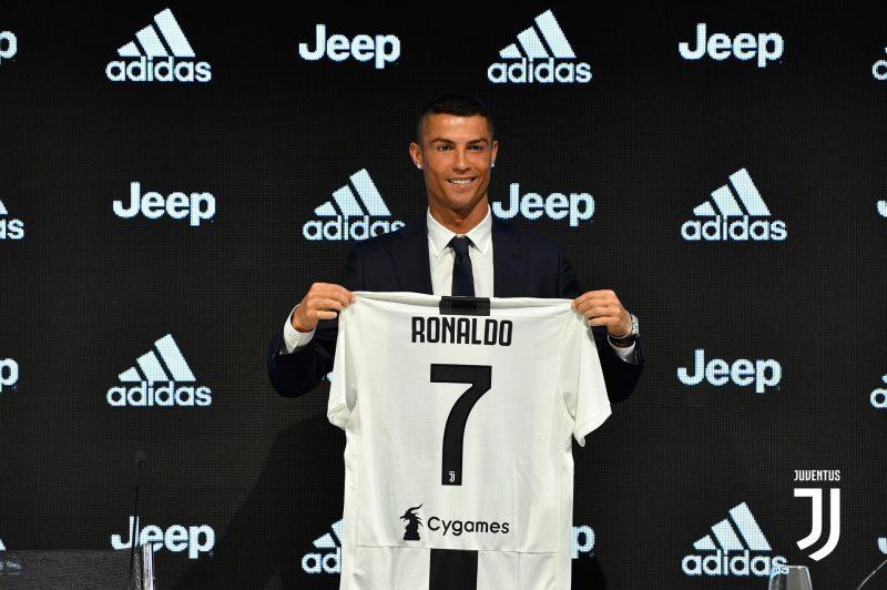Презентация Криштиану Роналду в качестве игрока Ювентуса
