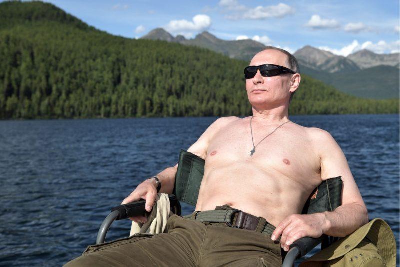Путин отдыхает