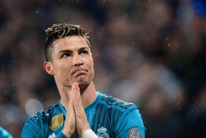 Криштиану Роналду в футбольной форме