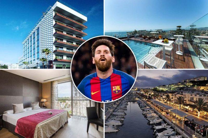 Отель Месси в Испании