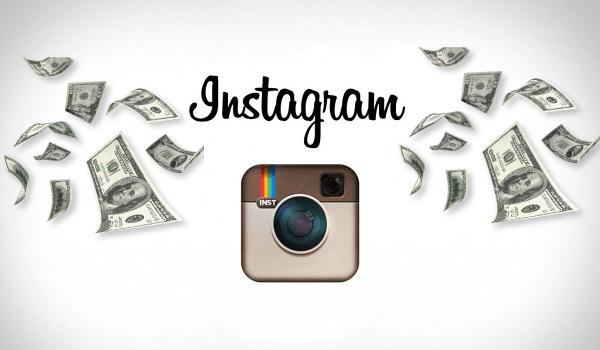 Иконка Инстаграм и деньги