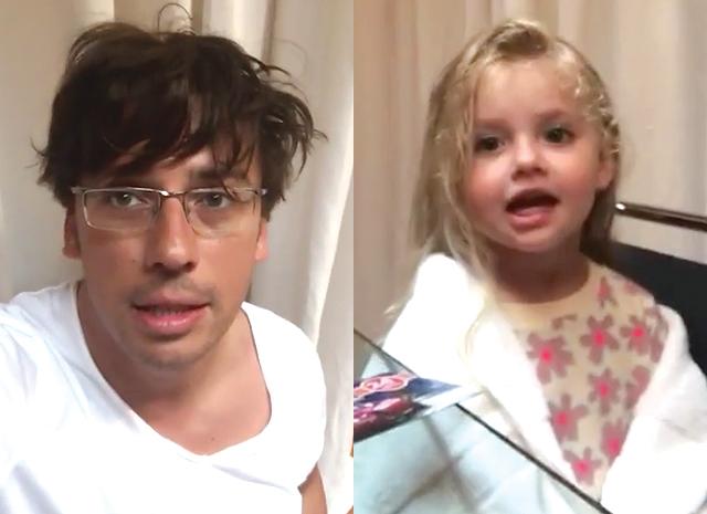 Максим Галкин и его дочь
