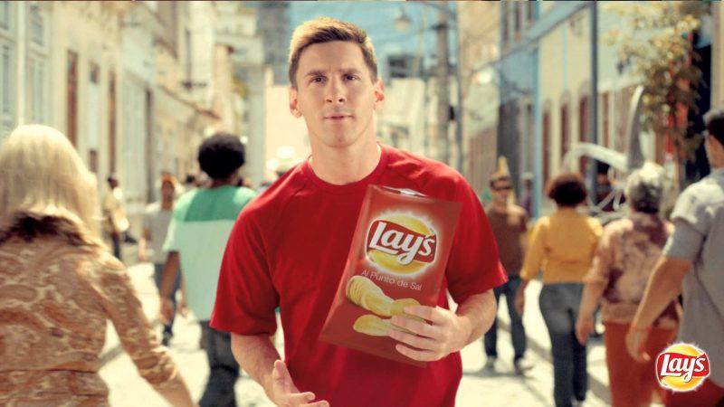 Лионель Месси в рекламе Lay's