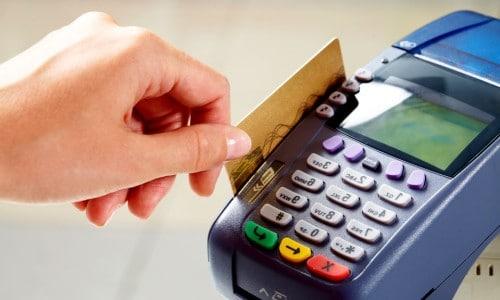 оплата кредиткой через кассовый аппарат