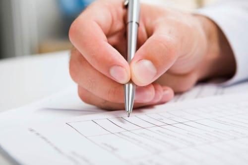 Правила заполнения стандартных форм и бланков