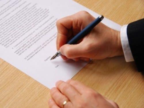 Оформление всех необходимых документов