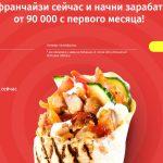 «Шаурмастер» — довольно известная сеть, предлагающая франшизу стоимостью от 650 000 рублей