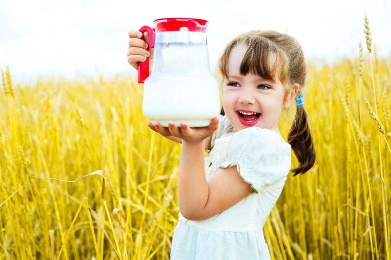 Кувшин с козьим молоком