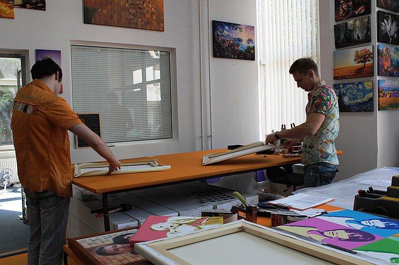Мастерская по изготовлению модульных картин