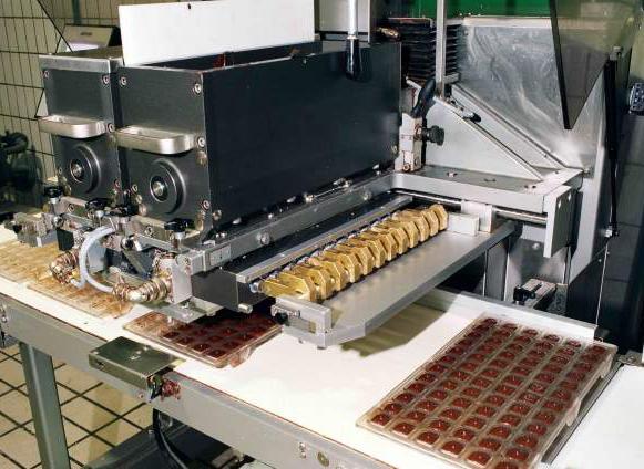 Цех по производству шоколада