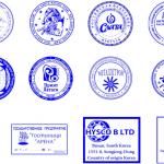 На печати или штампе можно разместить логотип организации