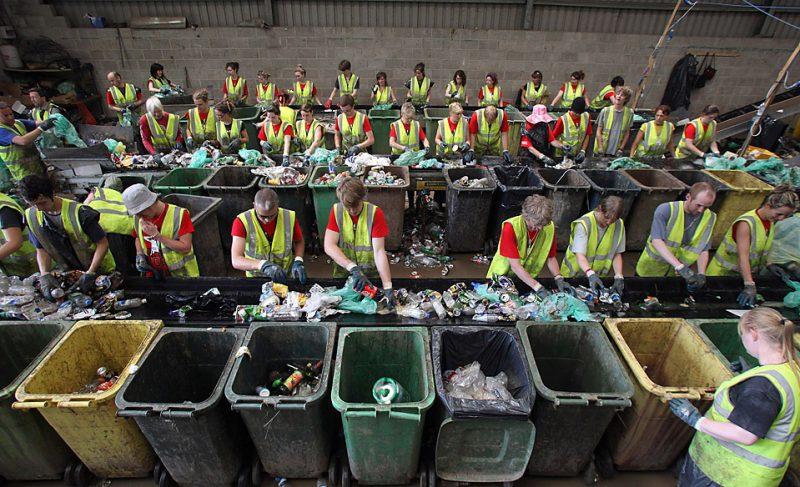 Цех по переработке мусора