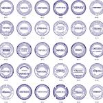 Стандартная круглая печать необходима в любой организации