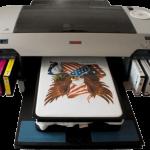 Текстильный принтер для печати на ровных поверхностях, в том числе тканях и пластике