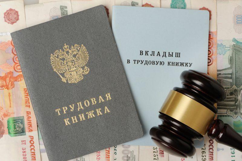 трудовая книжка и атрибут судебной власти
