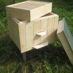 Украинский улей-лежак для пчёл по бокам всегда обшит специальным утеплением