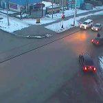 Записи на видеокамерах позволяют вычислить виновного в автомобильной аварии