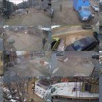 Видеокамеры позволяют следить за ходом строительства объекта