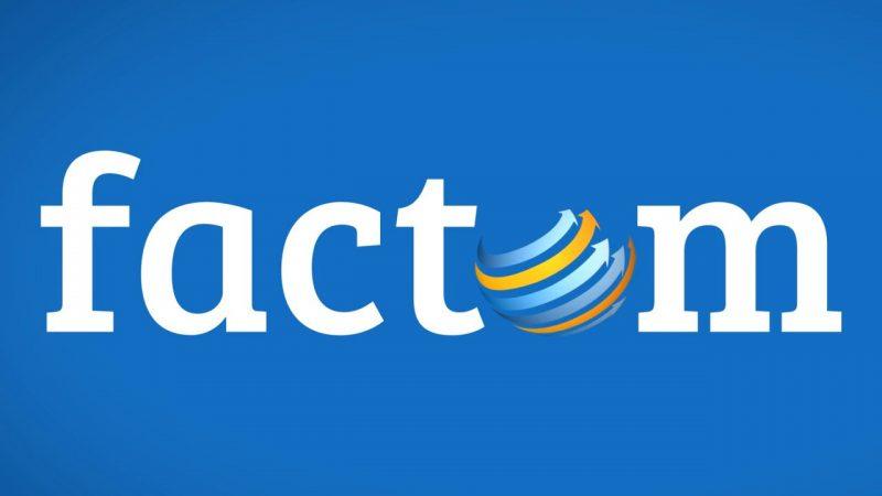 Логотип Factom